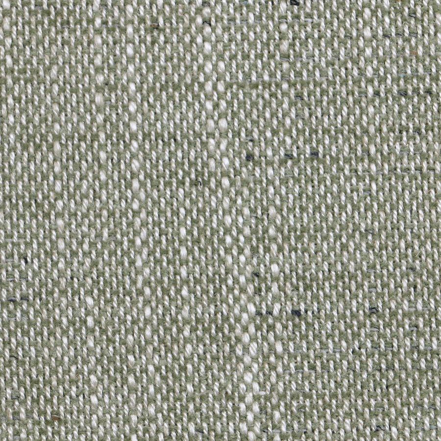 Fauteuil en tissu vert amande et hévéa massif noir - Raphaël