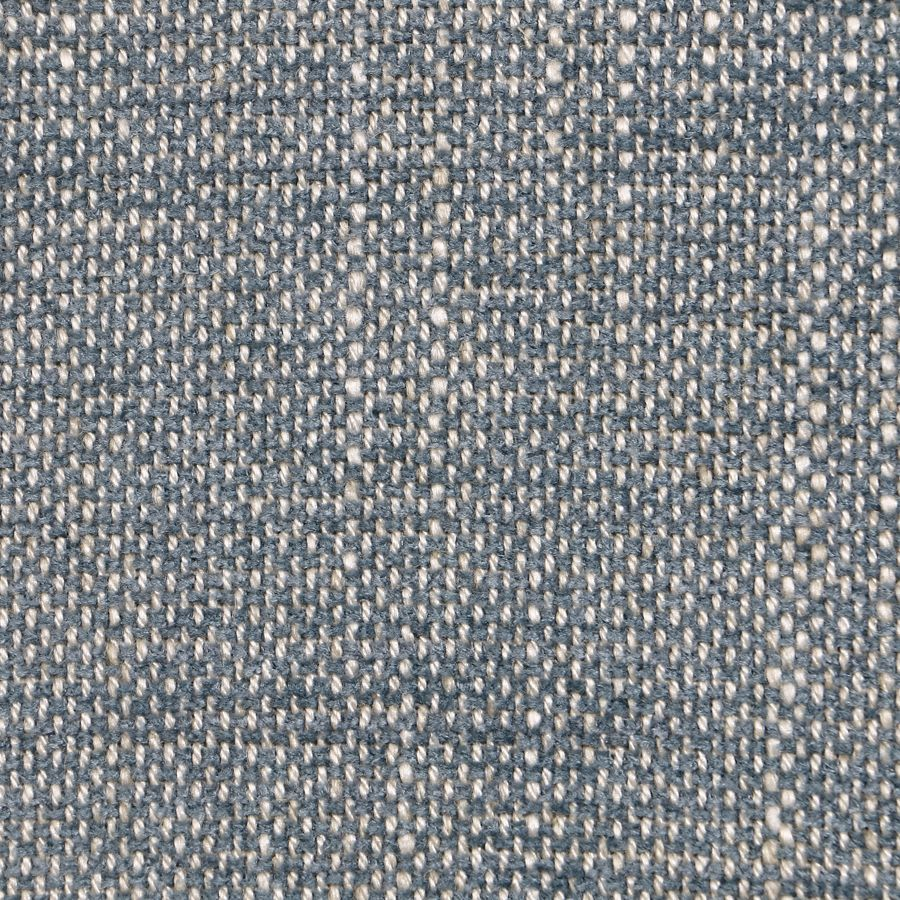 Fauteuil en tissu bleu chambray et frêne massif - Raphaël