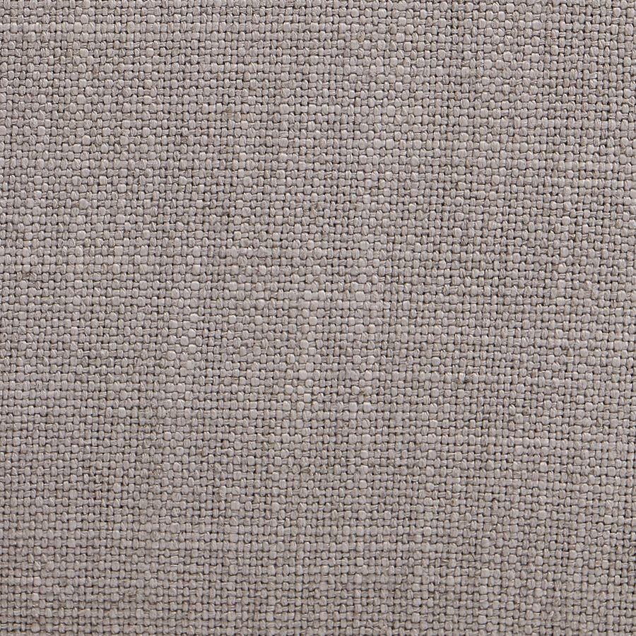 Fauteuil crapaud en tissu beige - Victor