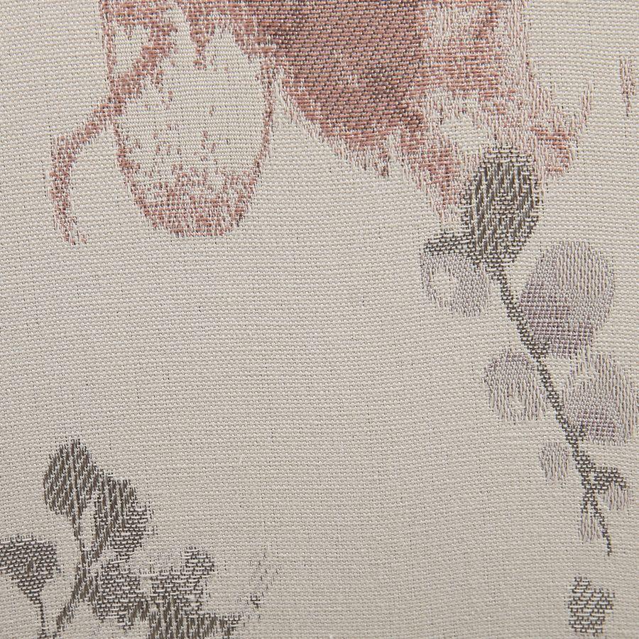 Fauteuil crapaud en tissu fleurs opaline - Victor