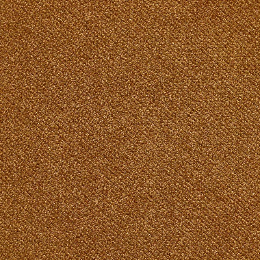 Fauteuil crapaud en velours jaune safran- Victor