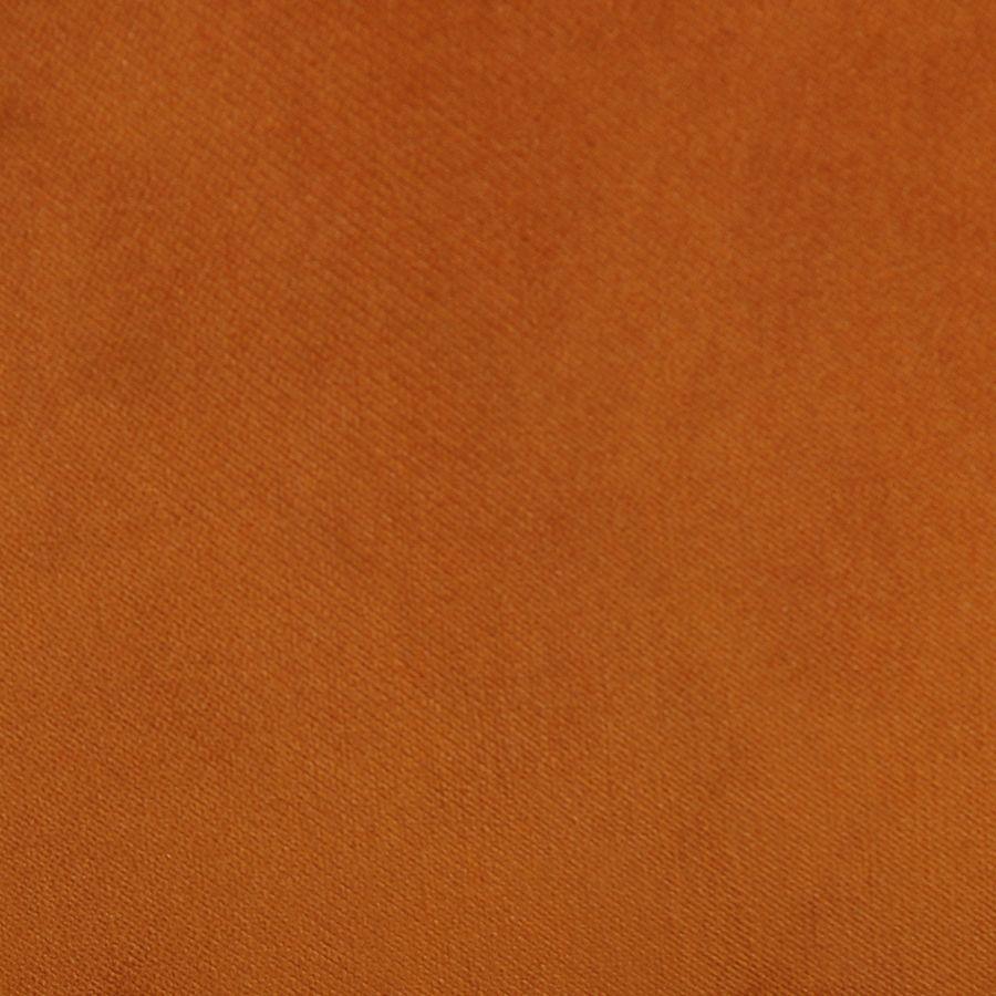 Fauteuil crapaud en velours jaune safran - Victor