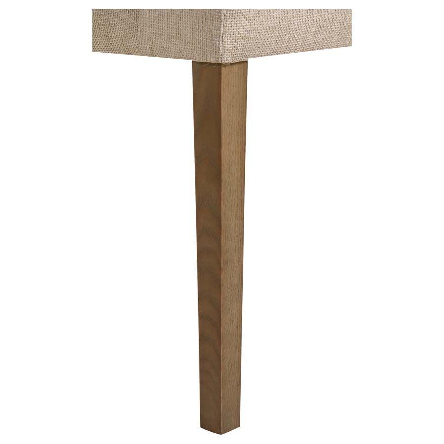 Fauteuil de table en tissu ficelle - Marceau