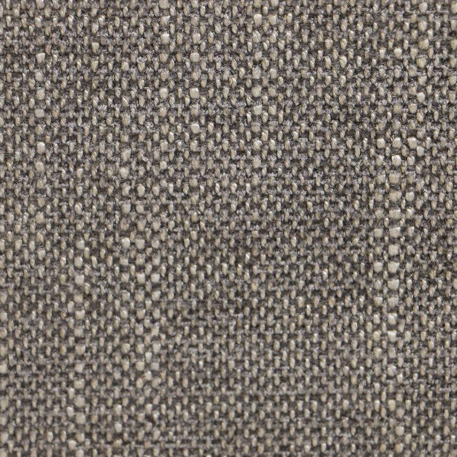 Banc coffre en tissu gris chambray - Gabriel