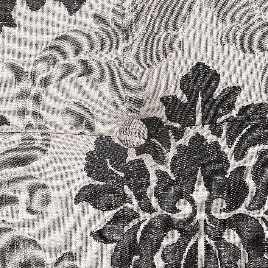 Méridienne droite en tissu Arabesque - Eugénie