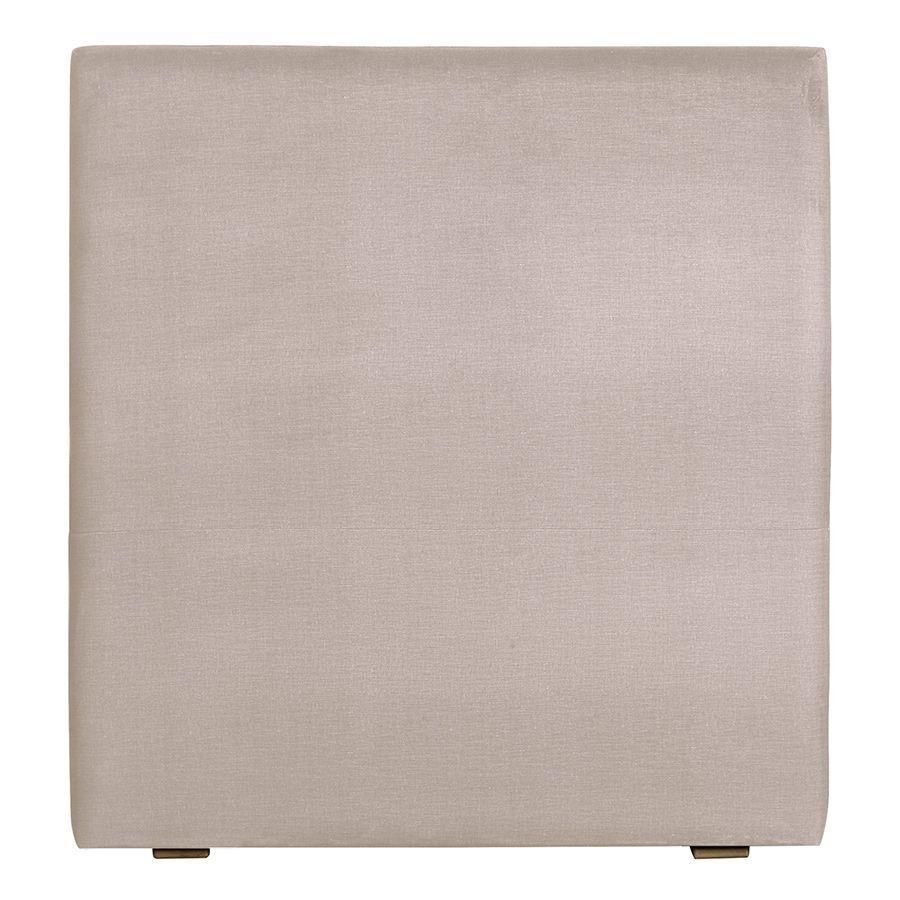 Tête de lit en tissu lin beige - Capucine