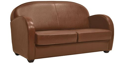 Canapé en cuir: le Steed