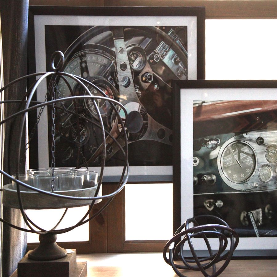 Tableau en bois photo voiture