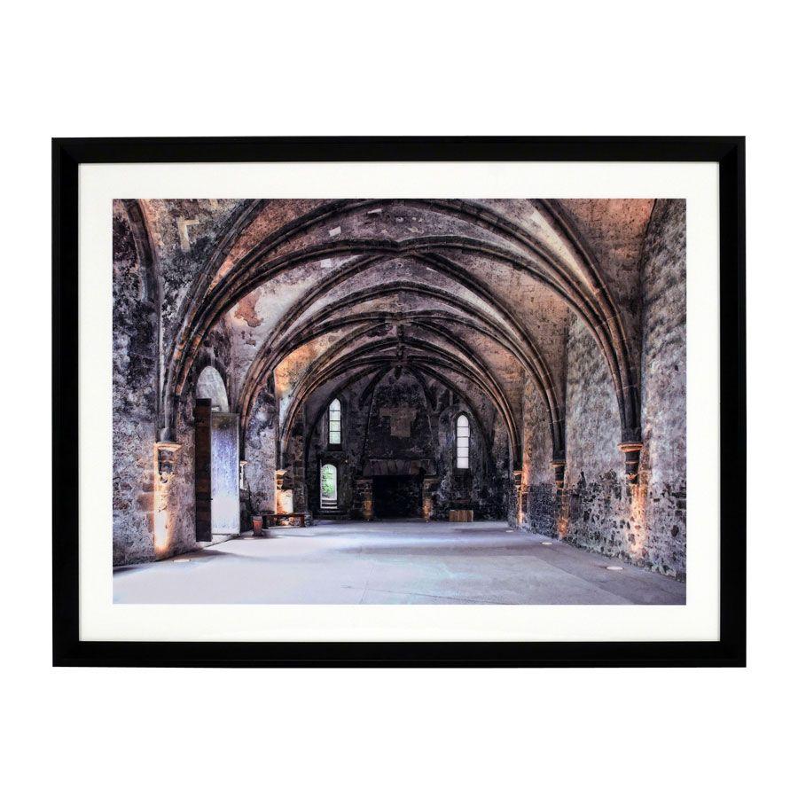 Cadre photo Abbaye