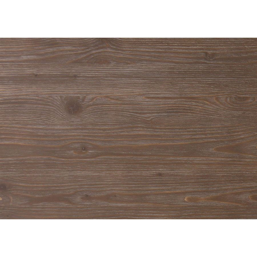 Table carrée en pin gris argenté 2 personnes - Château