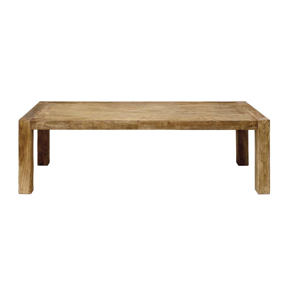 Table industrielle rectangulaire 10 personnes - Transition