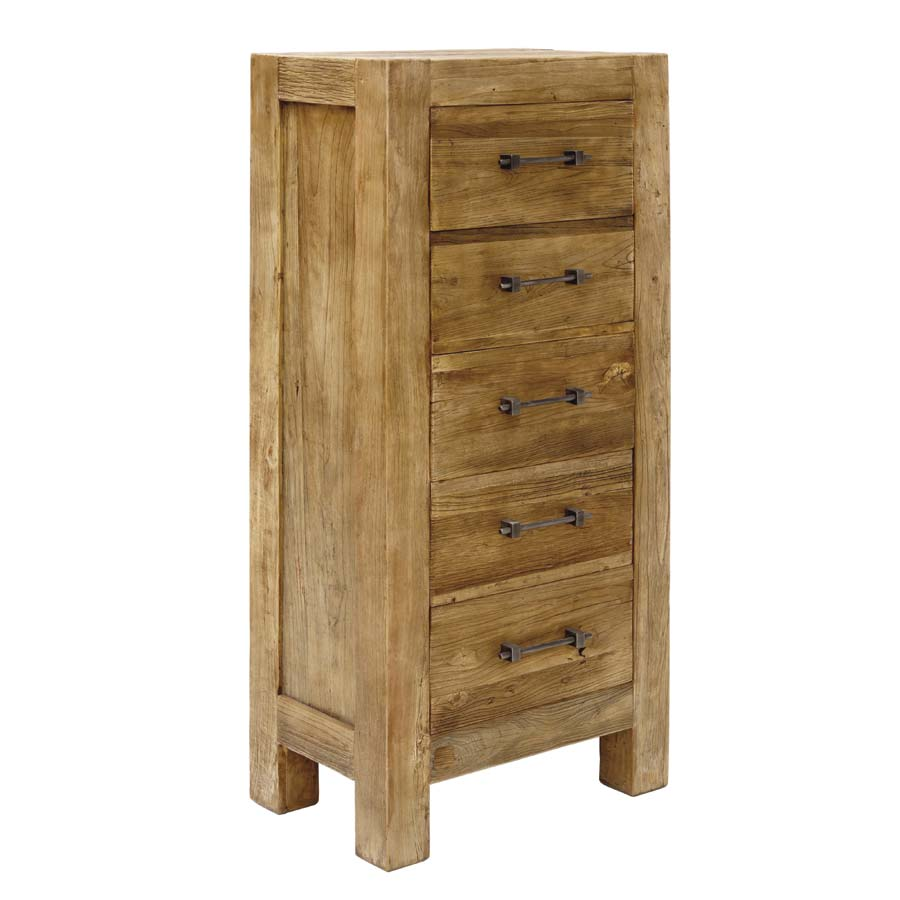Commode chiffonnier industrielle 5 tiroirs - Transition