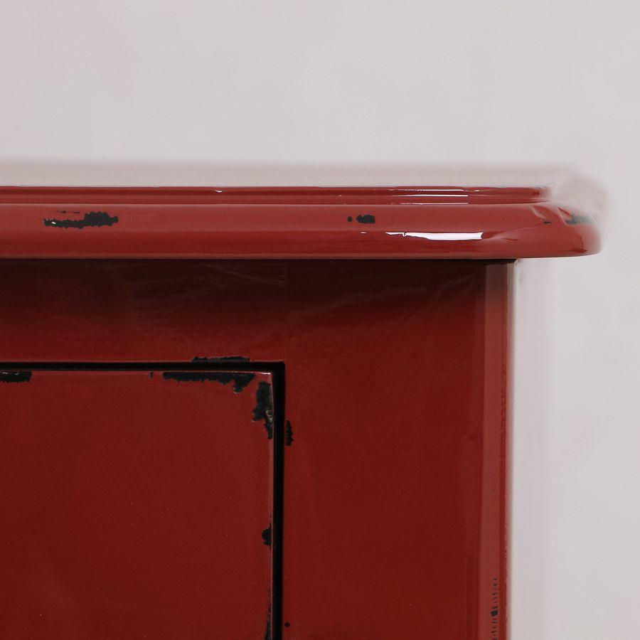 Commode 4 tiroirs en épicéa rouge séville