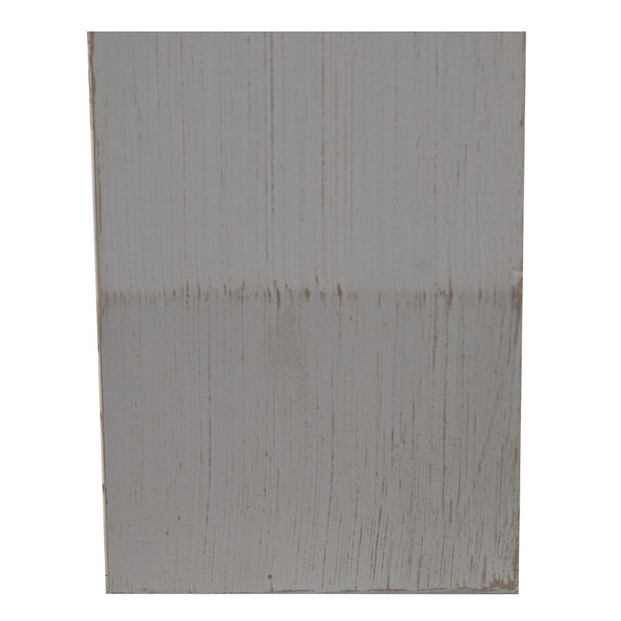 Fileur en pin massif gris perle - Brocante