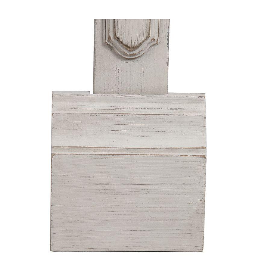 Set de jonction pour bibliothèques modulables en pin blanc vieilli - Château