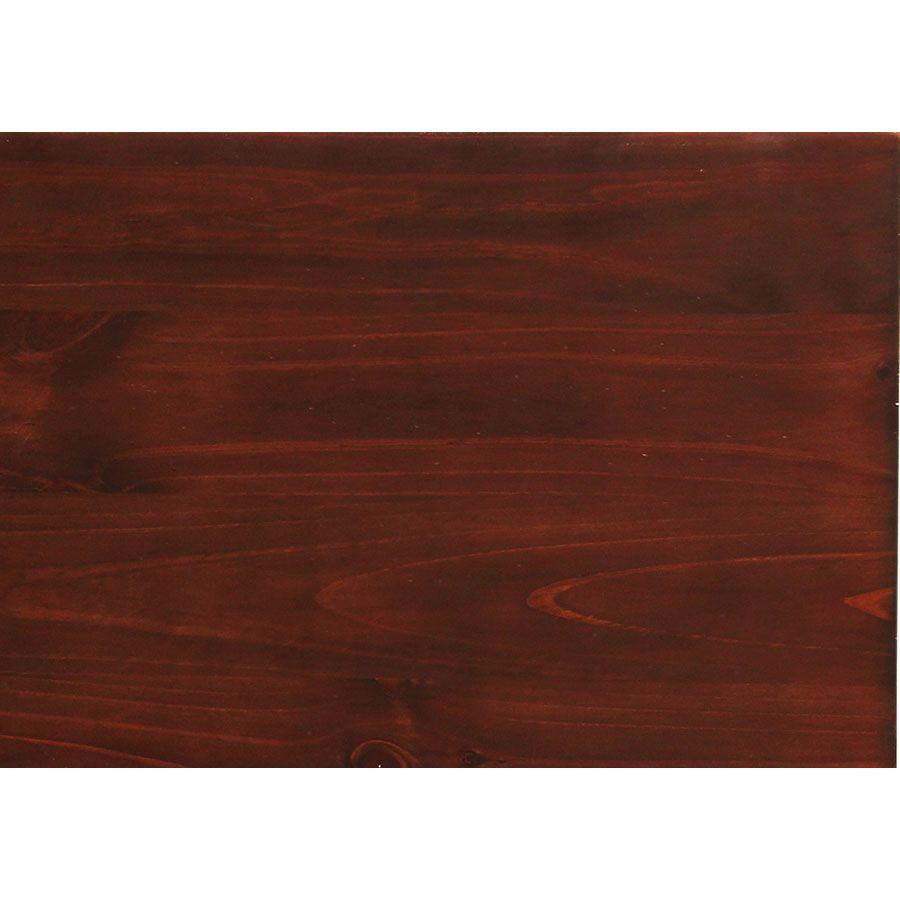 Table haute carrée en pin 2 à 4 personnes - Brocante