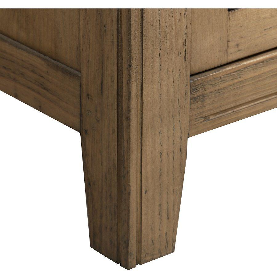 Meuble de mercerie en bois massif - Initiale