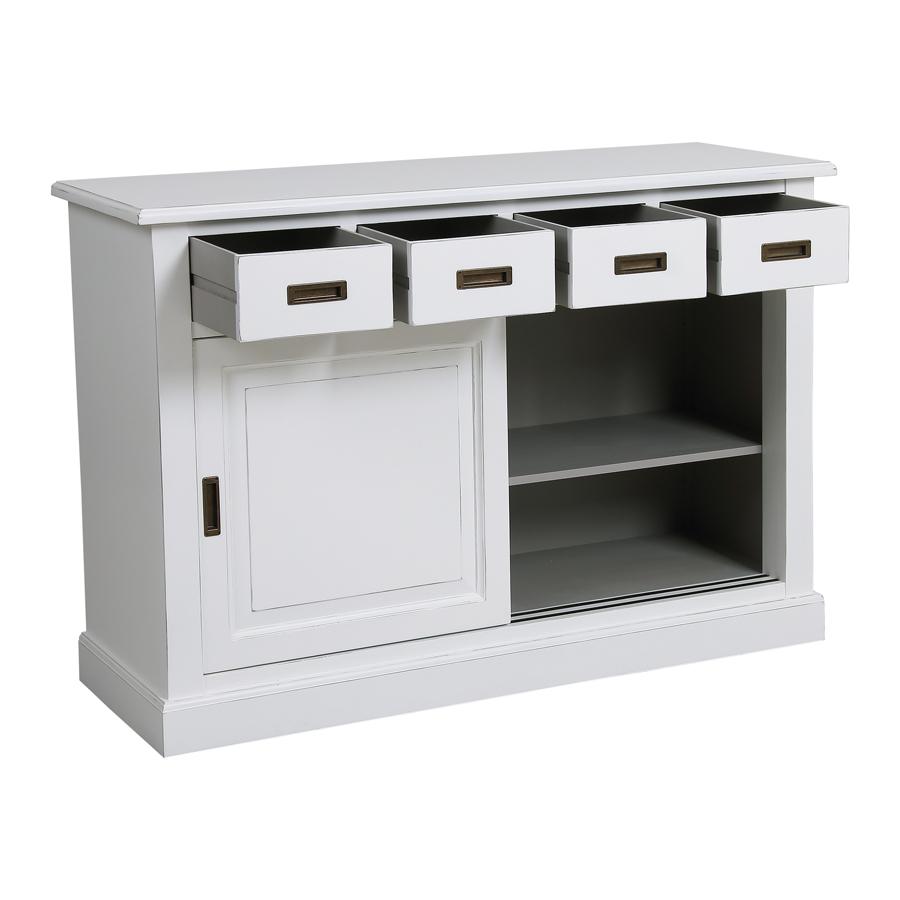 Bas de buffet 4 tiroirs 2 portes - Rhode Island