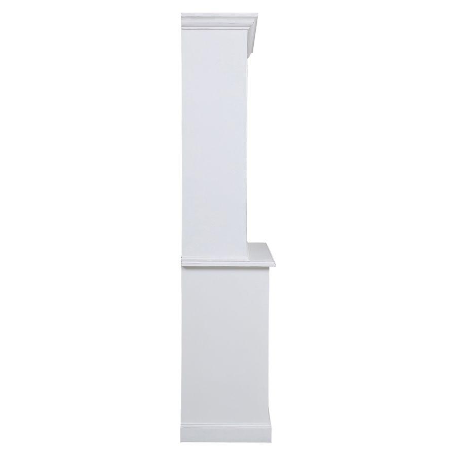 Buffet 2 portes vitrées blanc - Rhode Island