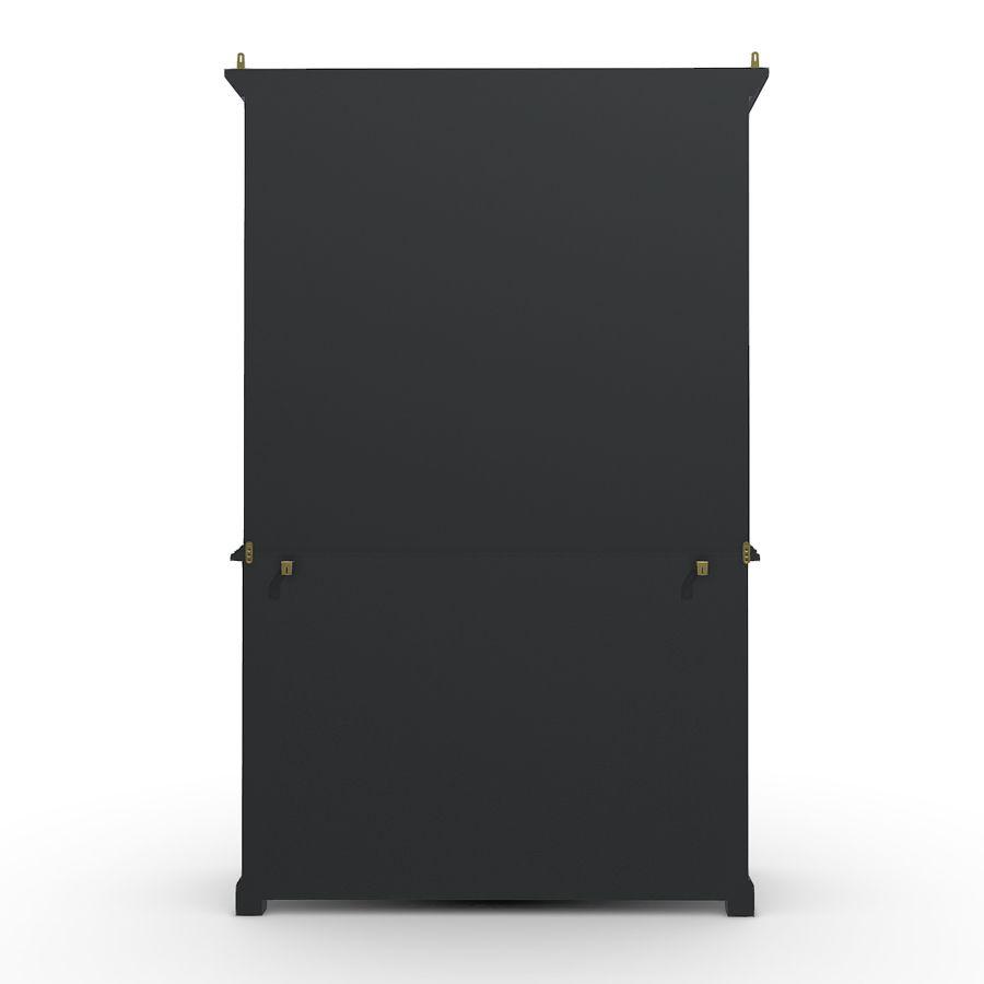 Buffet 2 portes vitrées noir – Rhode Island