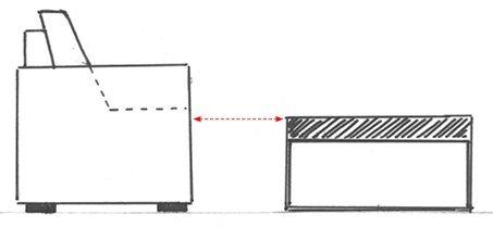 La hauteur idéale pour votre table basse
