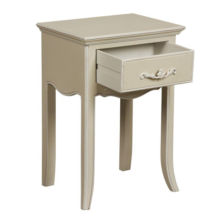 Table de chevet 1 tiroir - Lubéron