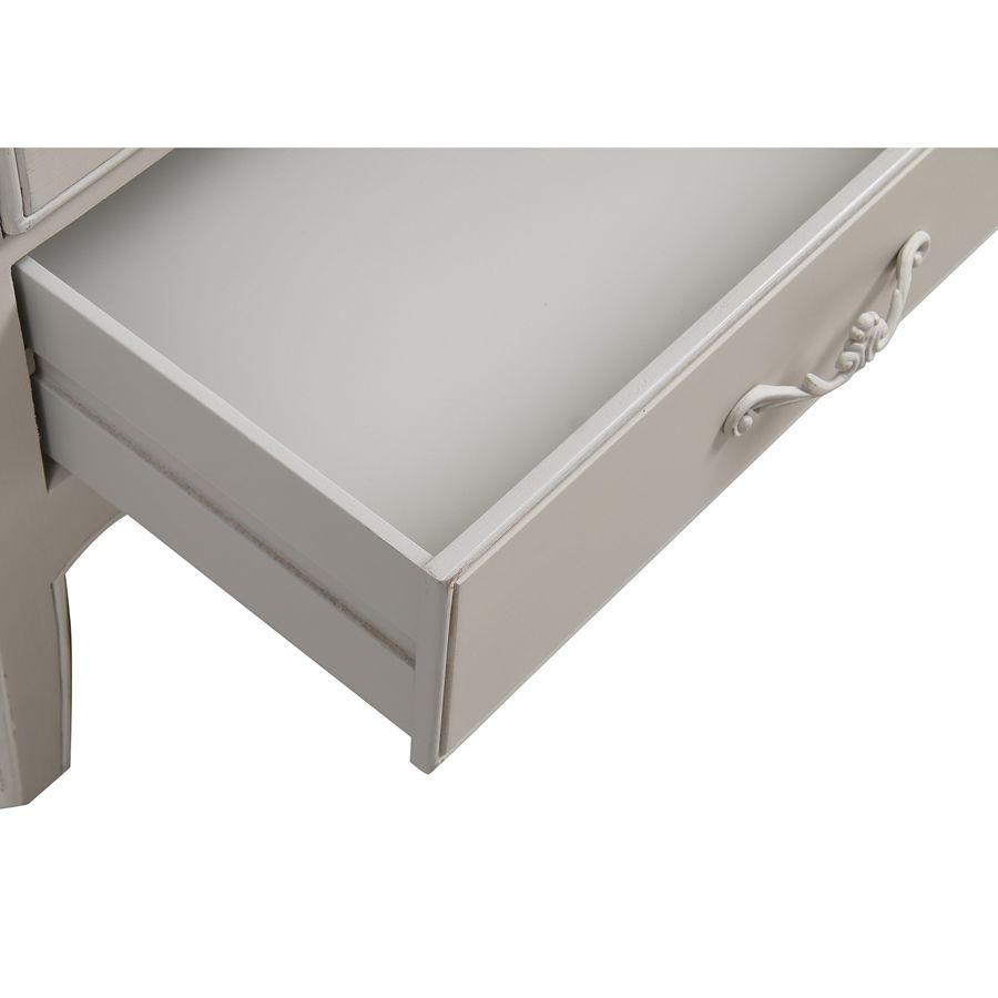 Commode semainier 6 tiroirs en bois - Lubéron