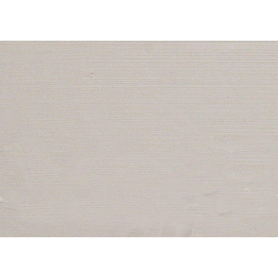 Lit 140x190 en bois sable rechampis blanc - Lubéron
