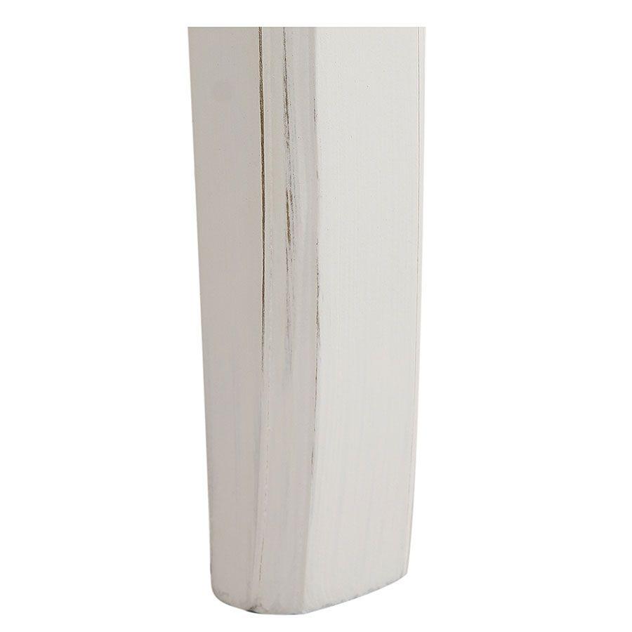 Tête de lit 160 blanche en bois - Lubéron