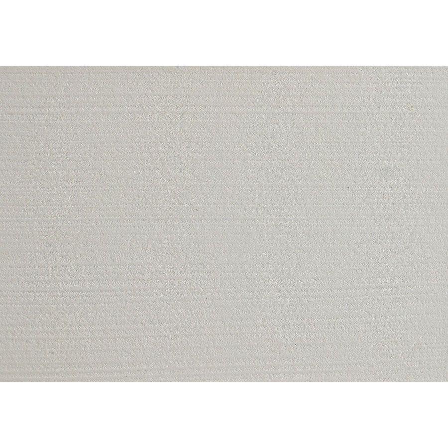 Table basse carrée blanche avec rangement - Lubéron