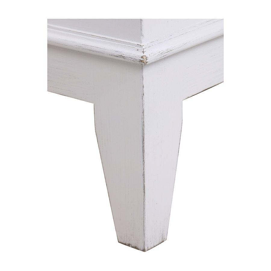 Armoire penderie bonnetière blanche 1 porte - Esquisse