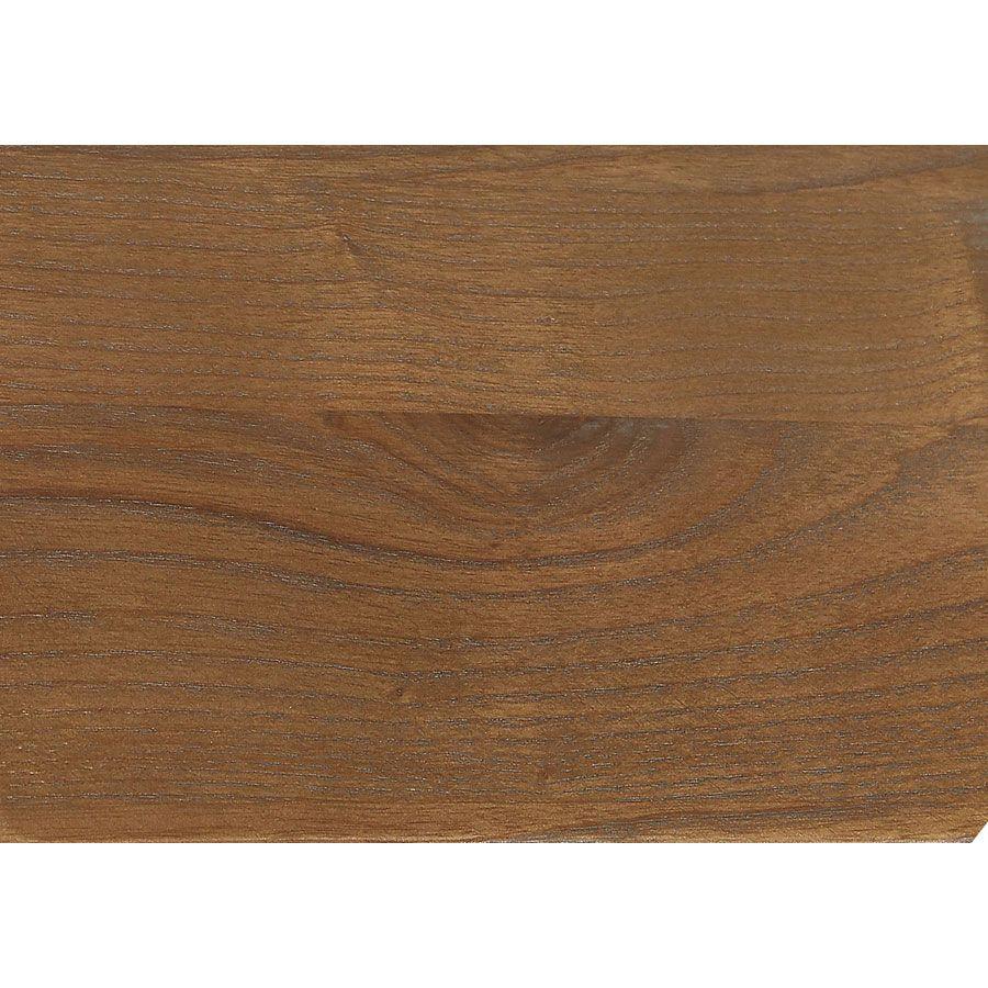 Lit 140x190 en pin massif gris clair vieilli - Esquisse