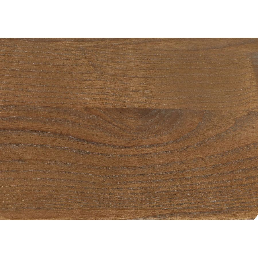 Table basse rectangulaire grise en pin - Esquisse