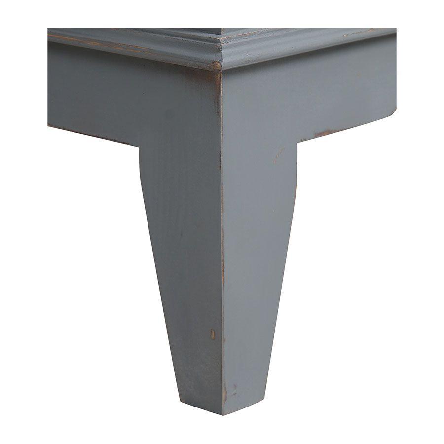Armoire bonnetière gris clair 1 porte - Esquisse