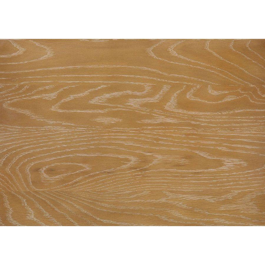 Table de chevet 1 tiroir en pin gris plume vieilli - Esquisse