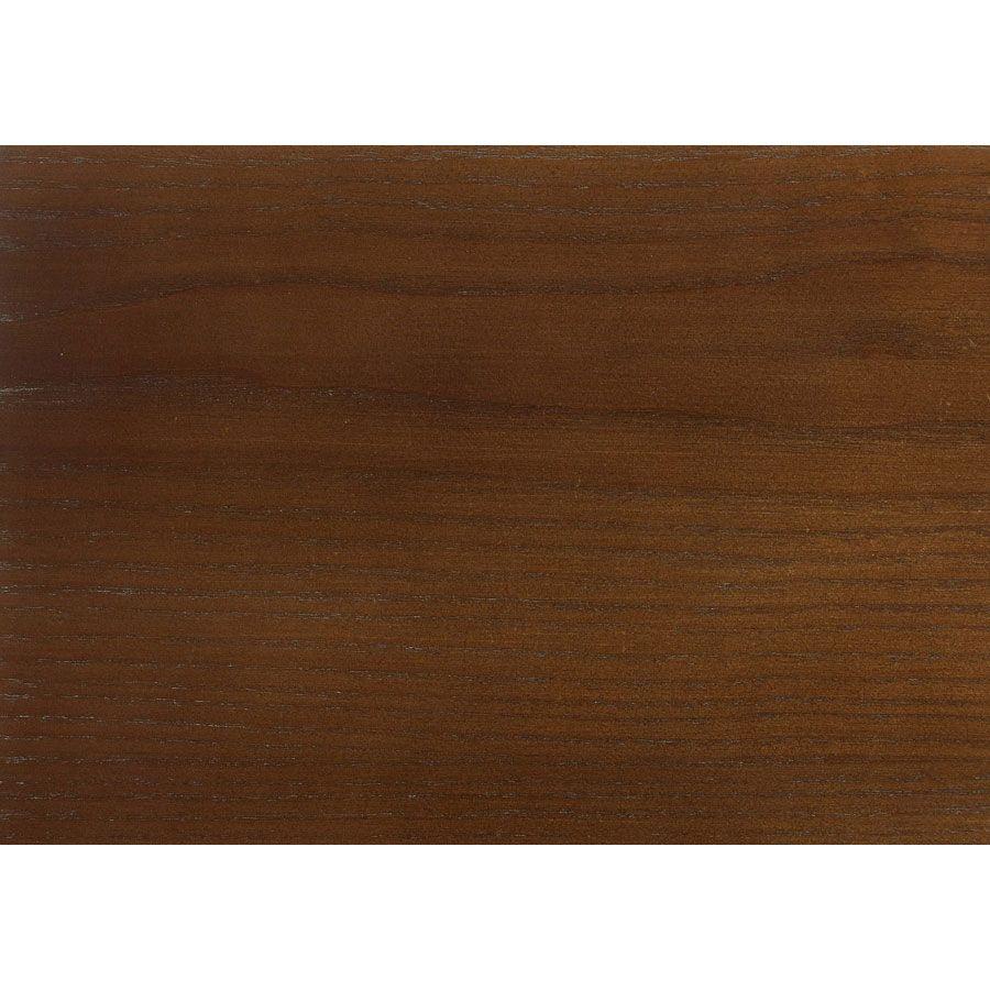 Table de chevet en pin noir vieilli - Esquisse