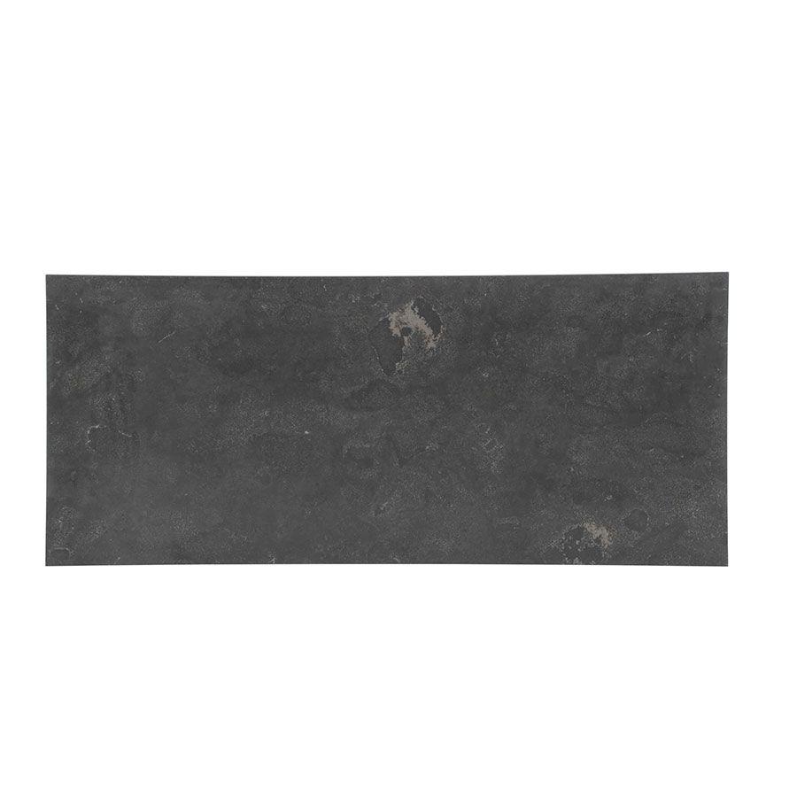 Table basse rectangulaire en pierre bleue - Minéral