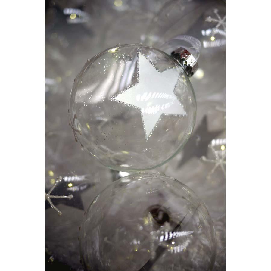 Boules en verre (lot de 6)