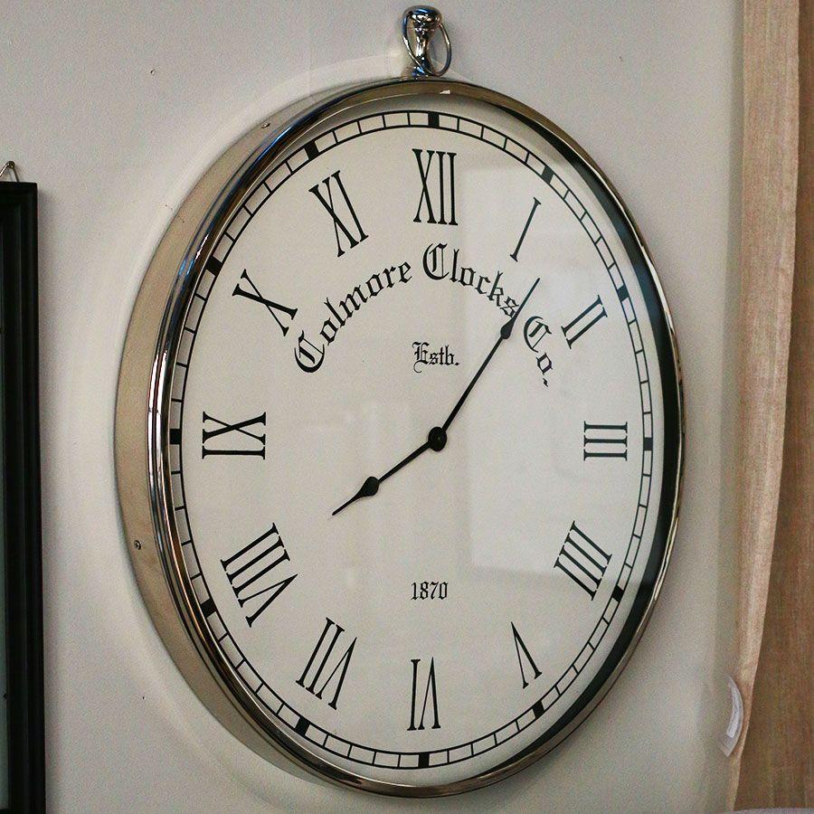 Horloge à gousset en métal
