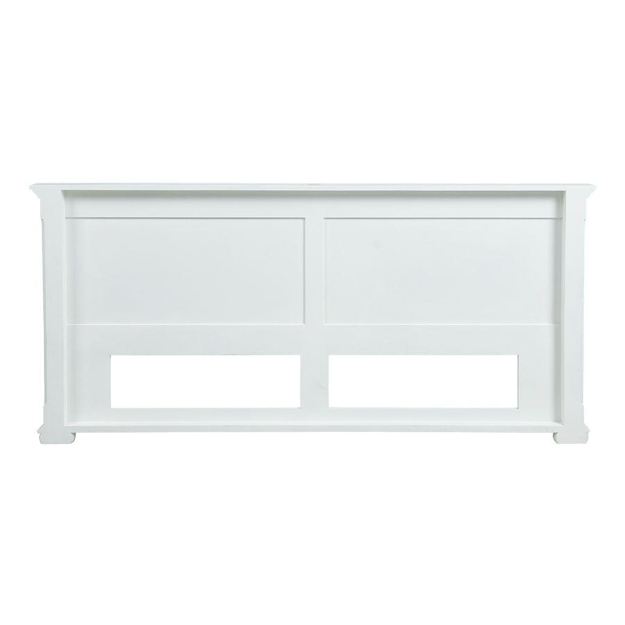 Tête de lit 180 blanche en bois - Harmonie