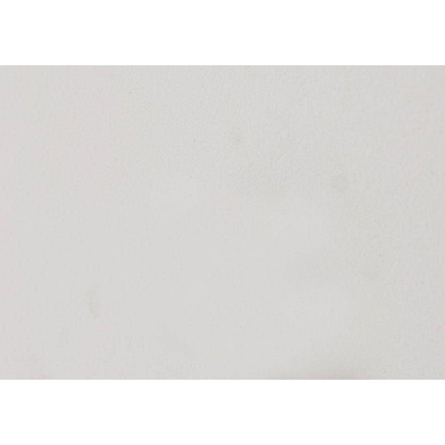 Lit 180x200 en bois blanc satiné - Harmonie