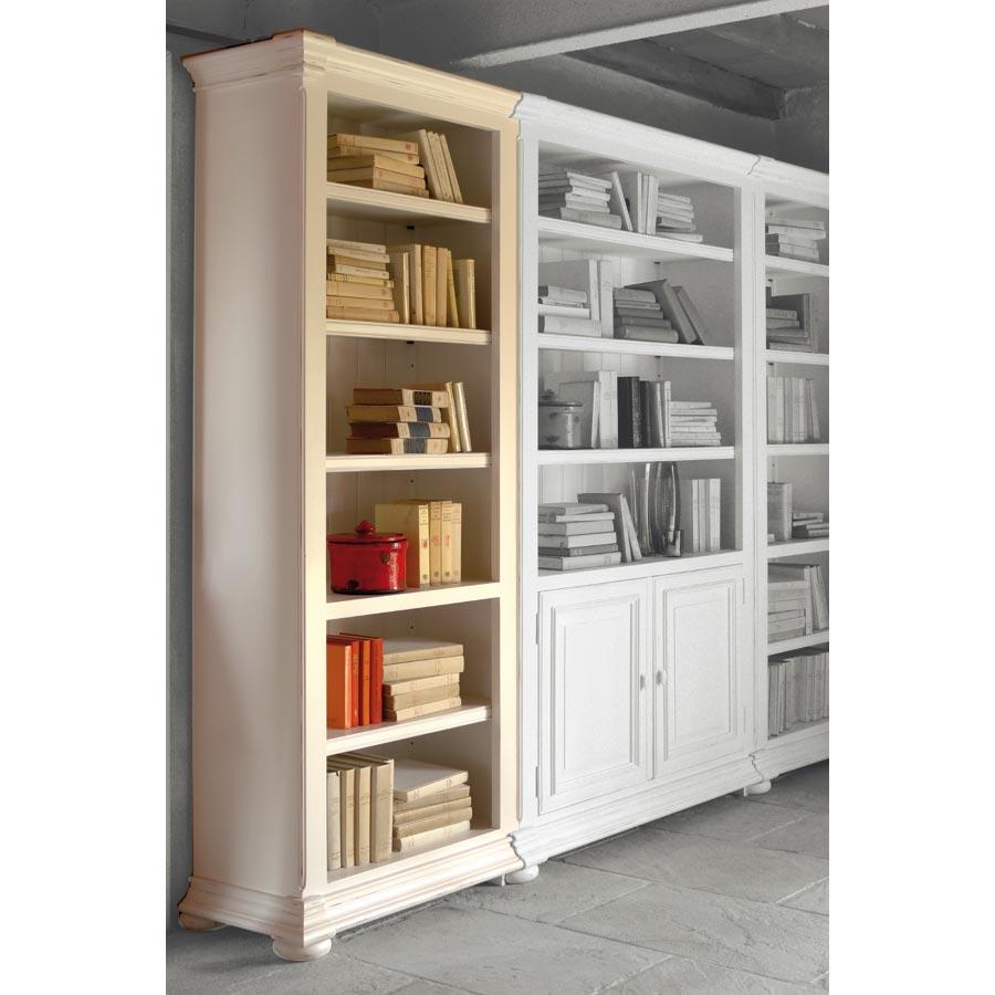 Bibliothèque blanche modulable - Harmonie