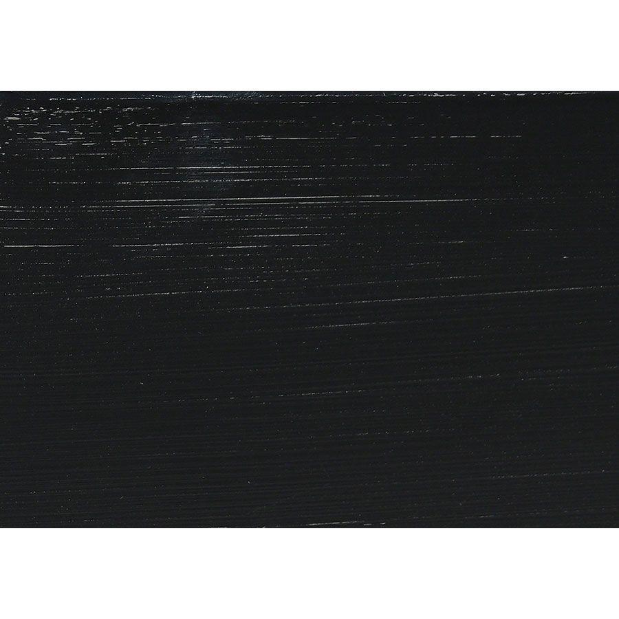 Corniche pour caisson en bois noir - Harmonie