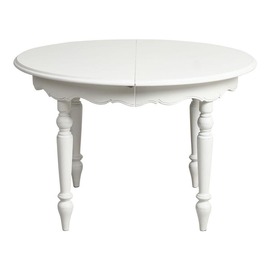 Table ronde extensible 4 à 8 personnes - Harmonie