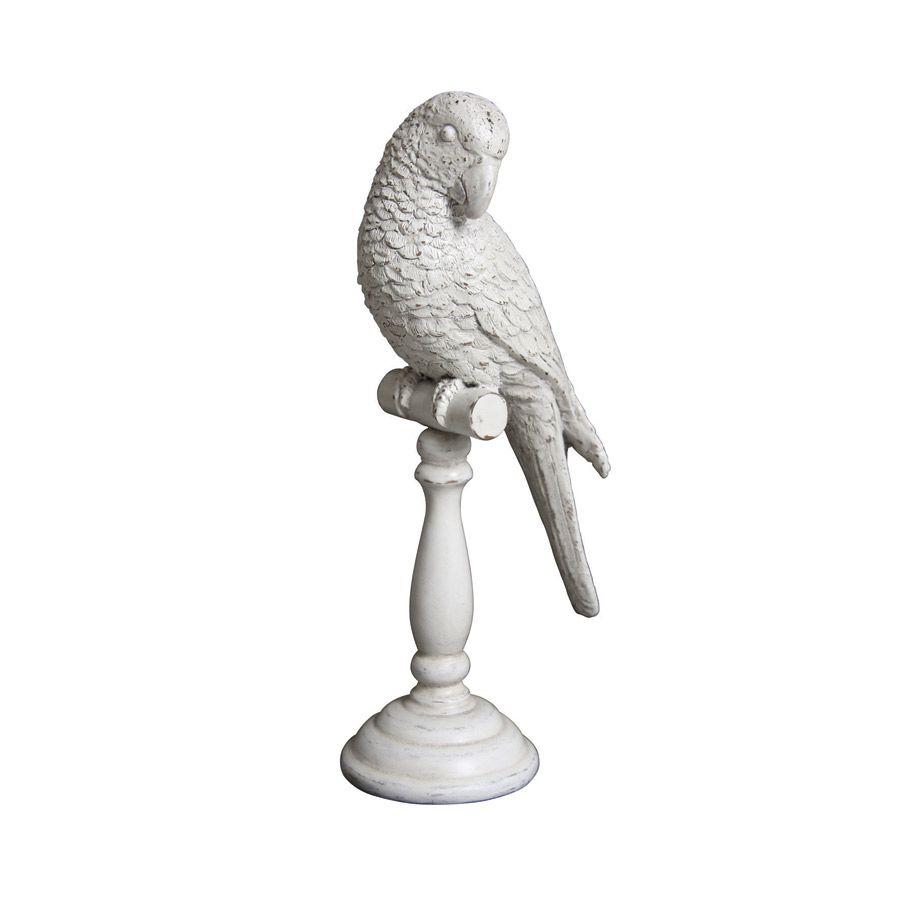Statuette oiseau sur socle
