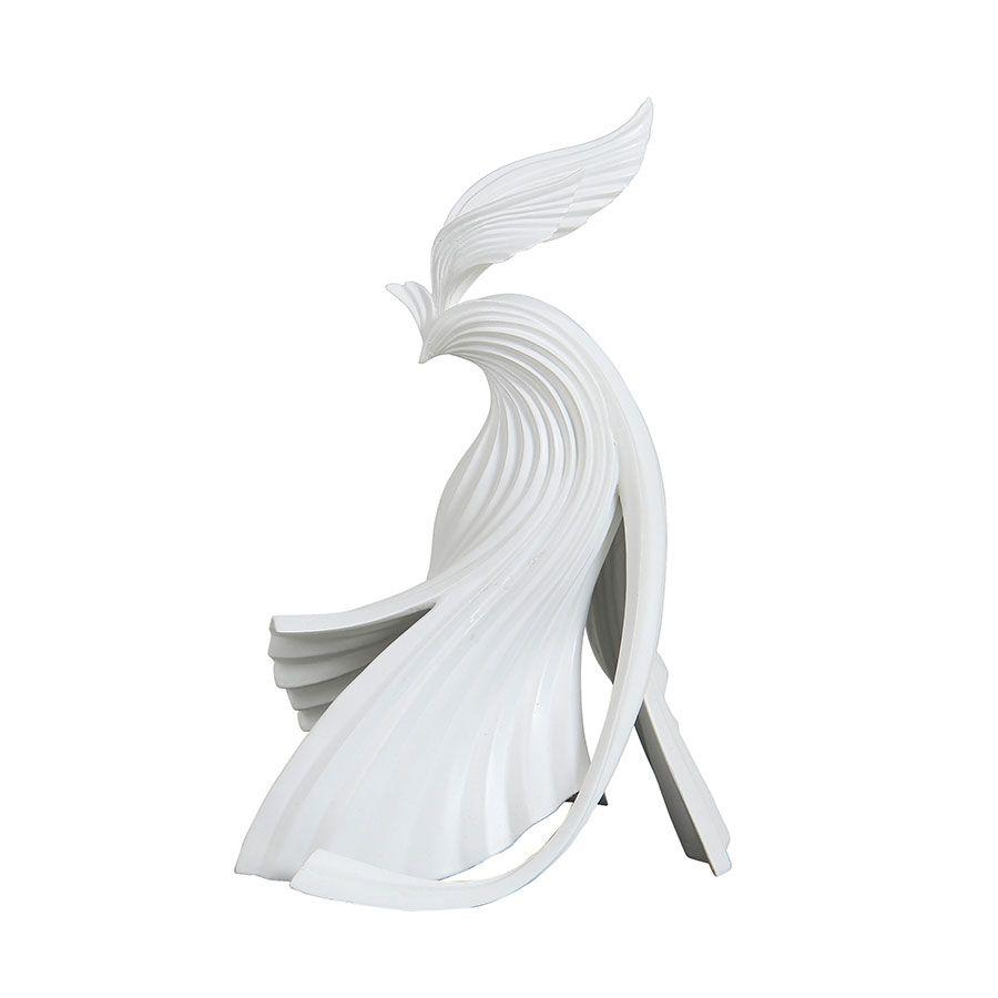 Statue d'oiseau  façon origami