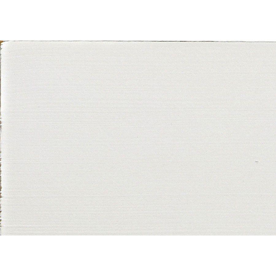 Table de chevet blanche 1 porte 1 tiroir - Romance
