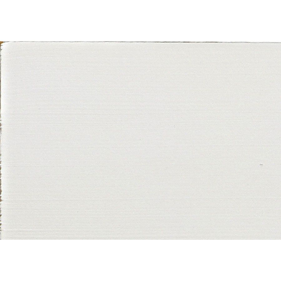 Lit 160x200 avec tiroirs en bois blanc vieilli - Romance
