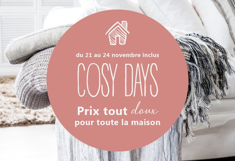 promotion Cosy Days