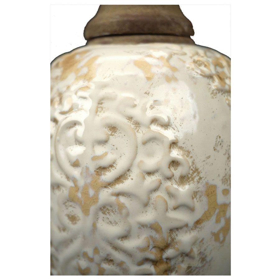 Pot d'officine en céramique